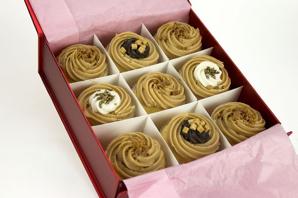 9 Toffee Lover Cupcakes Gift Boxed