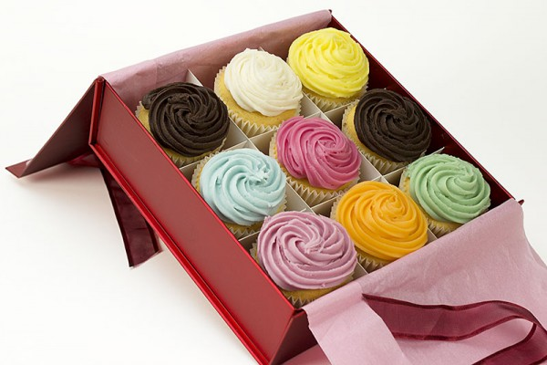 Cupcakes Gift Boxed