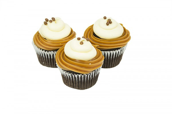 Chunky Monkey Toffee Sundae Cupcakes - Box of 6