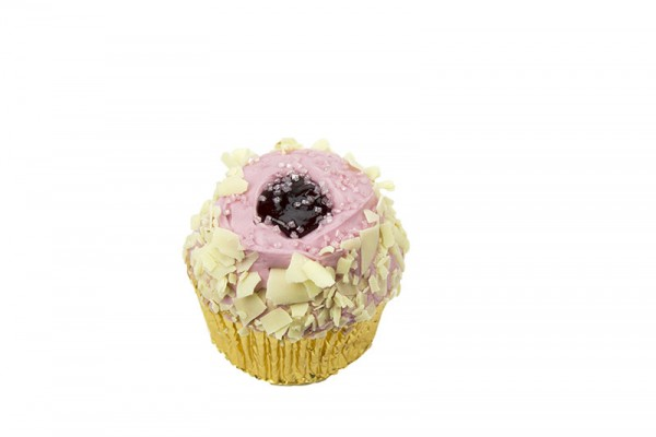 Jammie Dodger Cupcakes - Box of 6