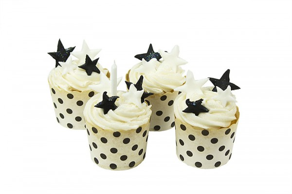 Polka Dot Stars Little cupcakes