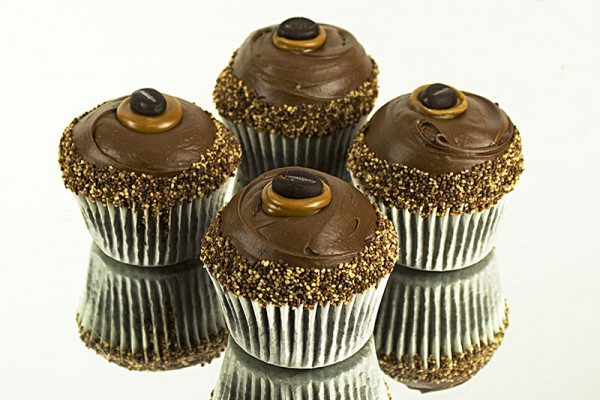 Cappuccino Pearls Cupcakes - Box of 16