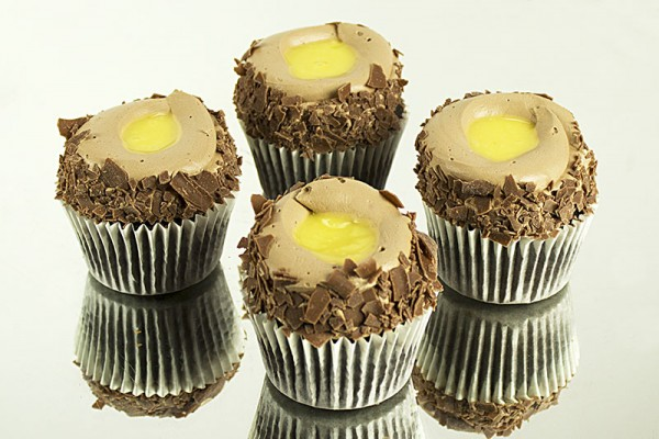 Lemon Zest Chocolate Cupcakes - Box of 6