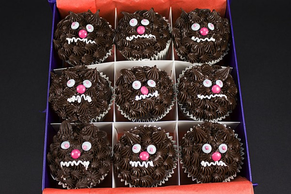 Not So Scary Werewolf Cupcakes