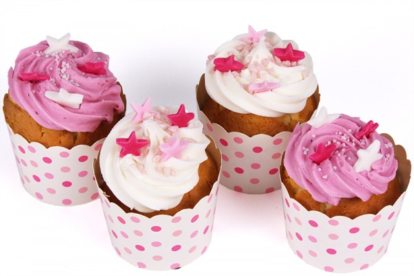 Little Birthday Cupcakes with Candle