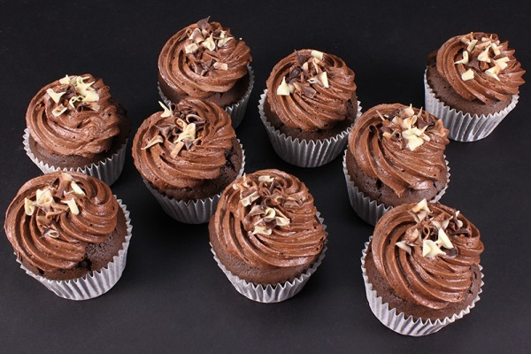9 Chocolate Cupcake Indulgence Gift Boxed