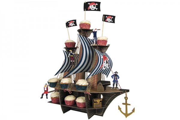 Pirate Ship Party Cupcakes