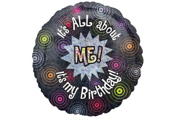 All About Me Birthday Balloon