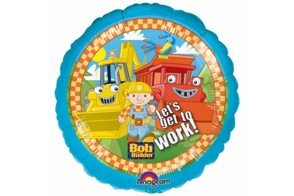 Bob Lets Get To Work Balloon