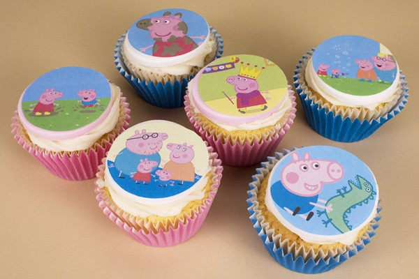 Your Favourite Character Cupcakes - Box of 6