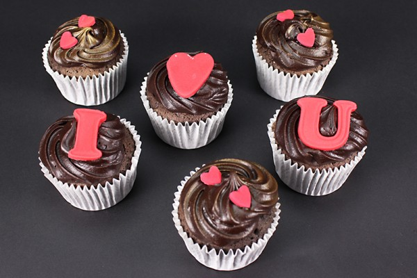 I Love You Cupcakes - Box of 6