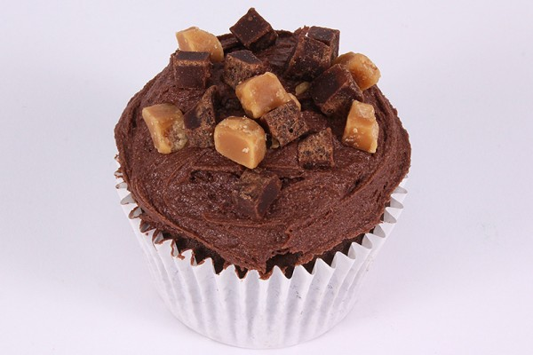 Fudge Brownie Sundae Cupcake - Box of 9