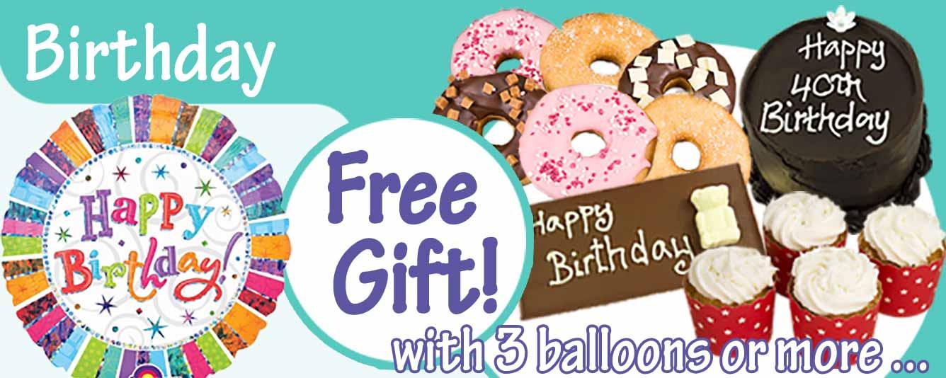 SendThemCupcakes Balloons Main Page Slide