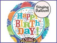 Singing Balloons